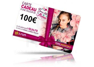 i-run.fr Carte Cadeau 100 Fête des Mères