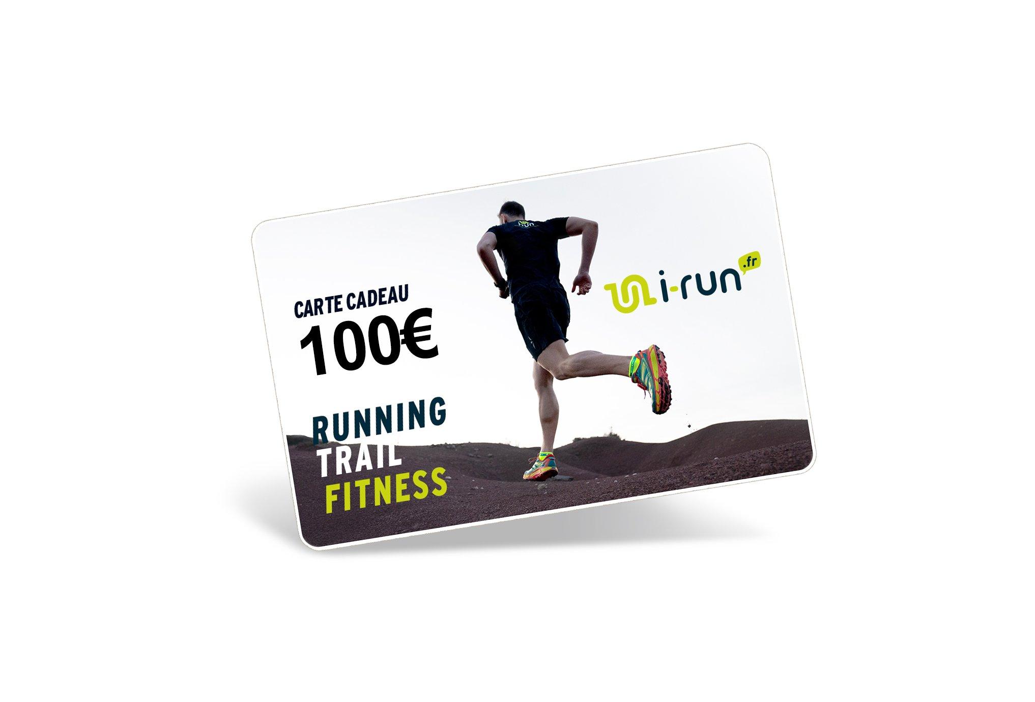 i-run.fr Carte Cadeau 100 M Cartes Cadeau