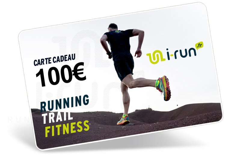 i-run.fr Carte Cadeau 100 M