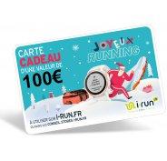 i-run.fr Carte Cadeau 100 Spéciale Noël