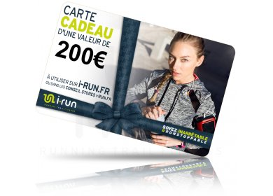 i-run.fr Carte Cadeau 200 W