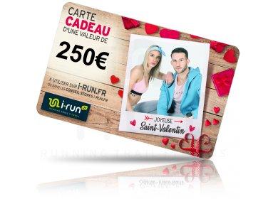 i-run.fr Carte Cadeau 250 Saint Valentin