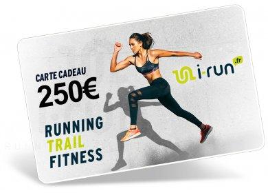 i-run.fr Carte Cadeau 250 W