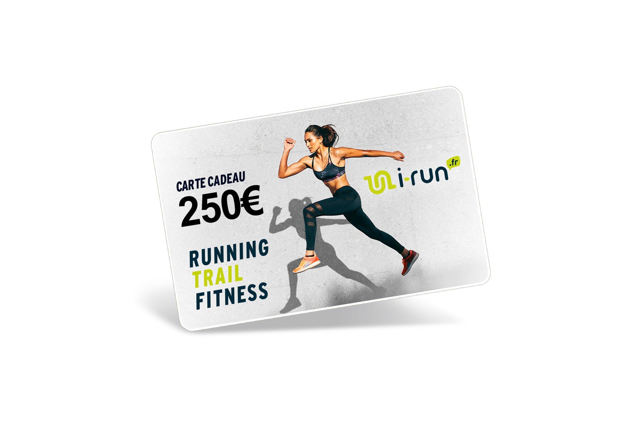 i-run.fr Carte Cadeau 250 W Cartes Cadeau