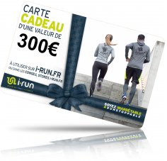 i-run.fr Carte Cadeau 300