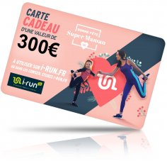 i-run.fr Carte Cadeau 300 Fête des Mères