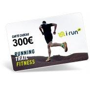 i-run.fr Carte Cadeau 300 M