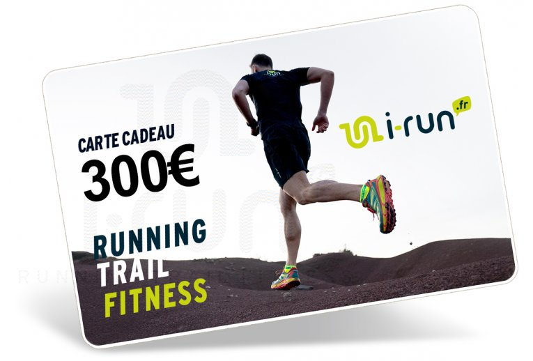 i-run.fr Carte Cadeau 300 M