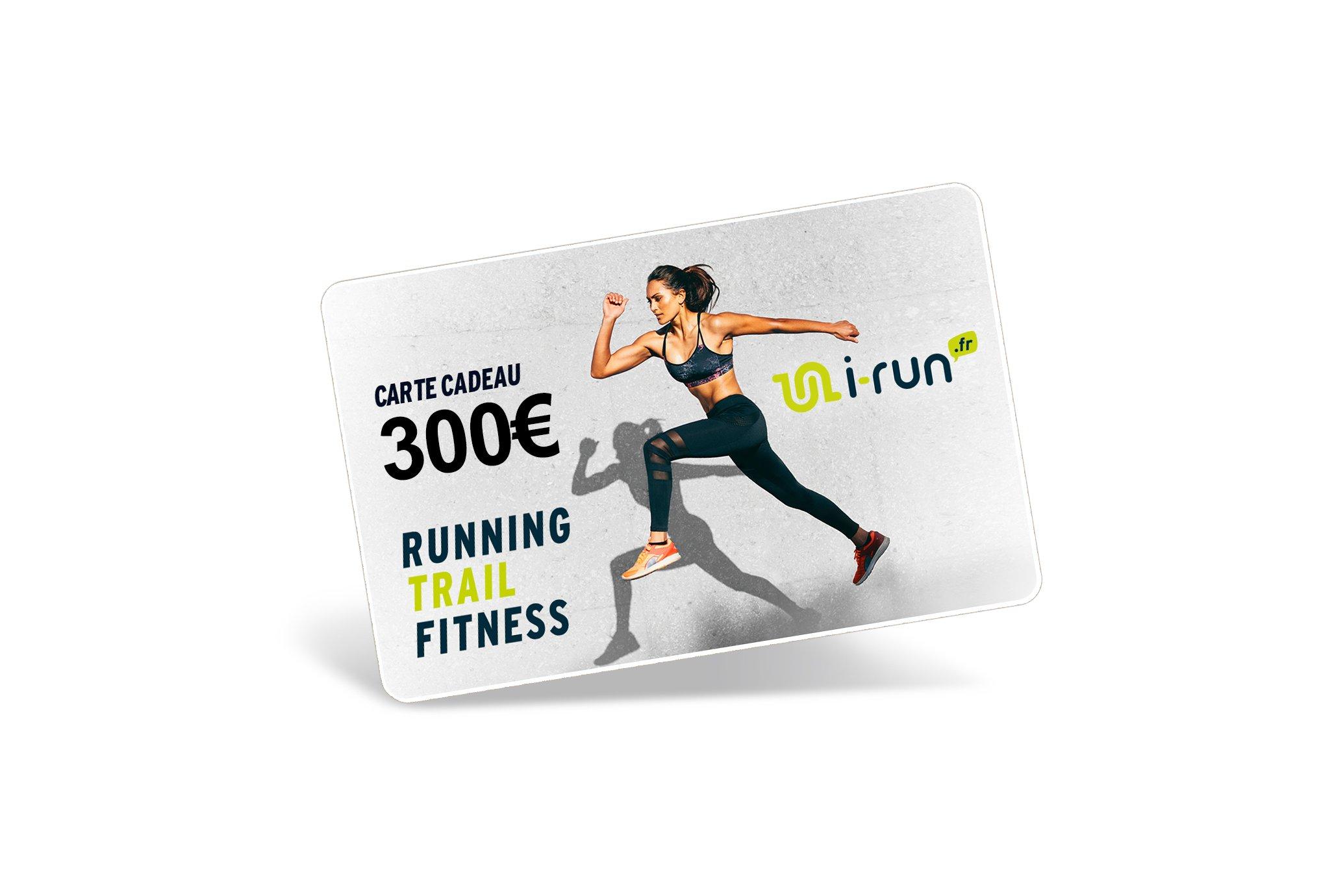 i-run.fr Carte Cadeau 300 W Cartes Cadeau