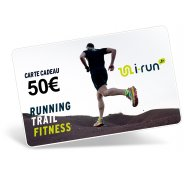 i-run.fr Carte Cadeau 50 M