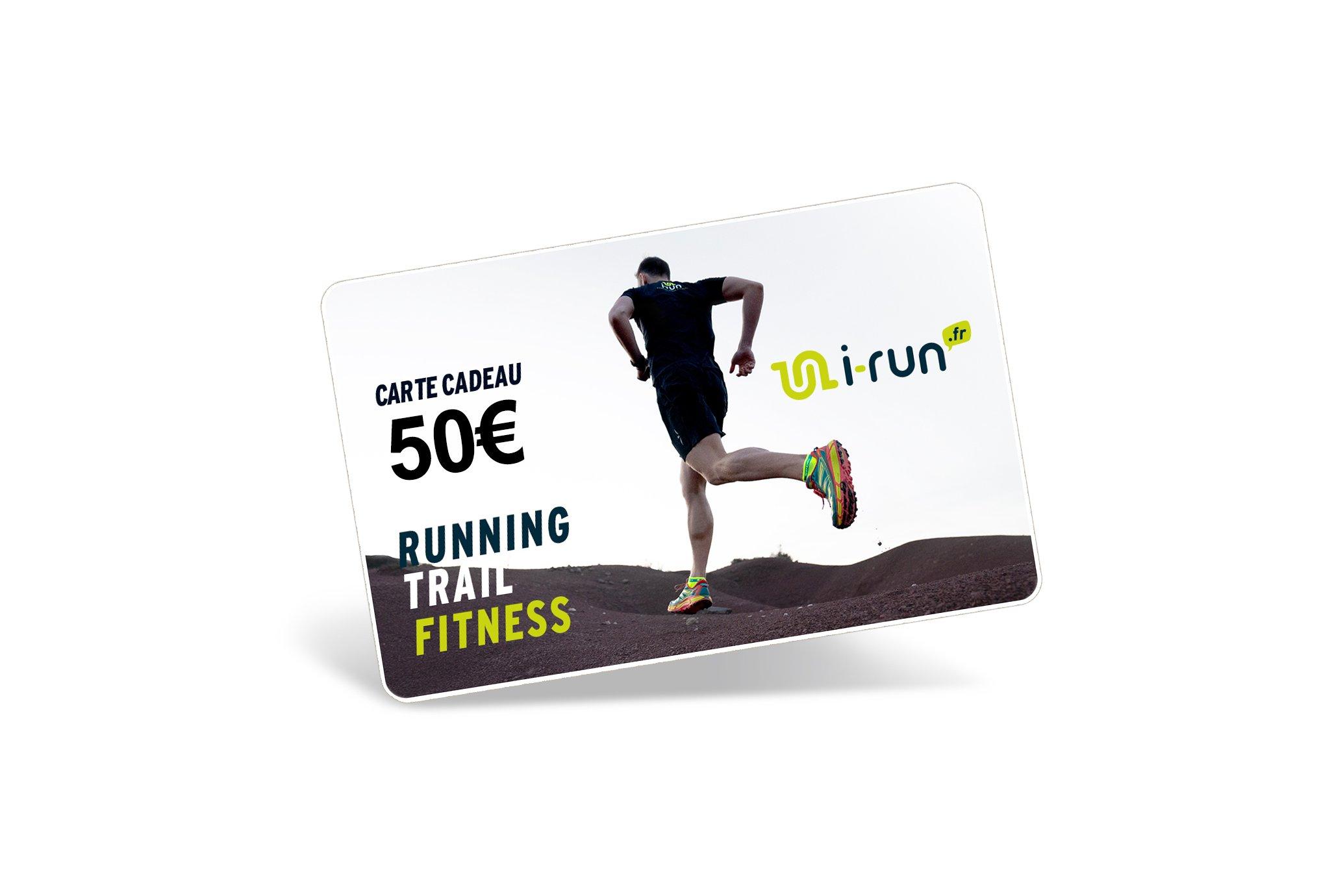 i-run.fr Carte Cadeau 50 M Cartes Cadeau