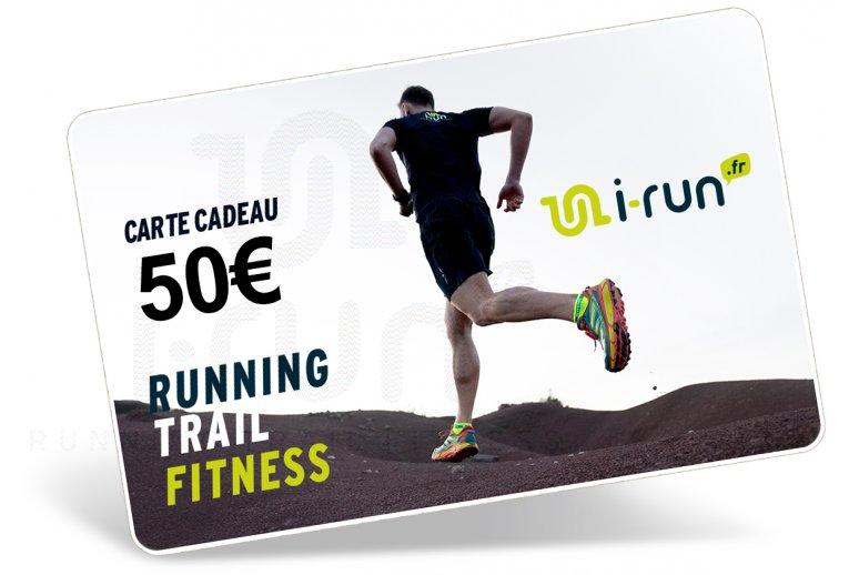 i-run.fr Carte Cadeau 50 M