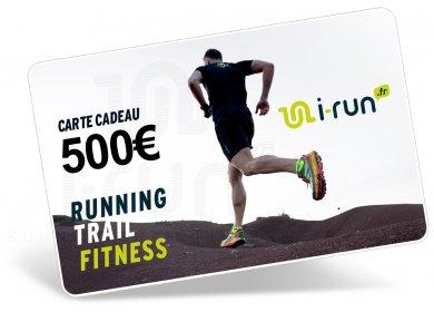 i-run.fr Carte Cadeau 500 M
