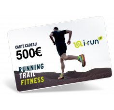 i-run.fr Carte Cadeau 500 M