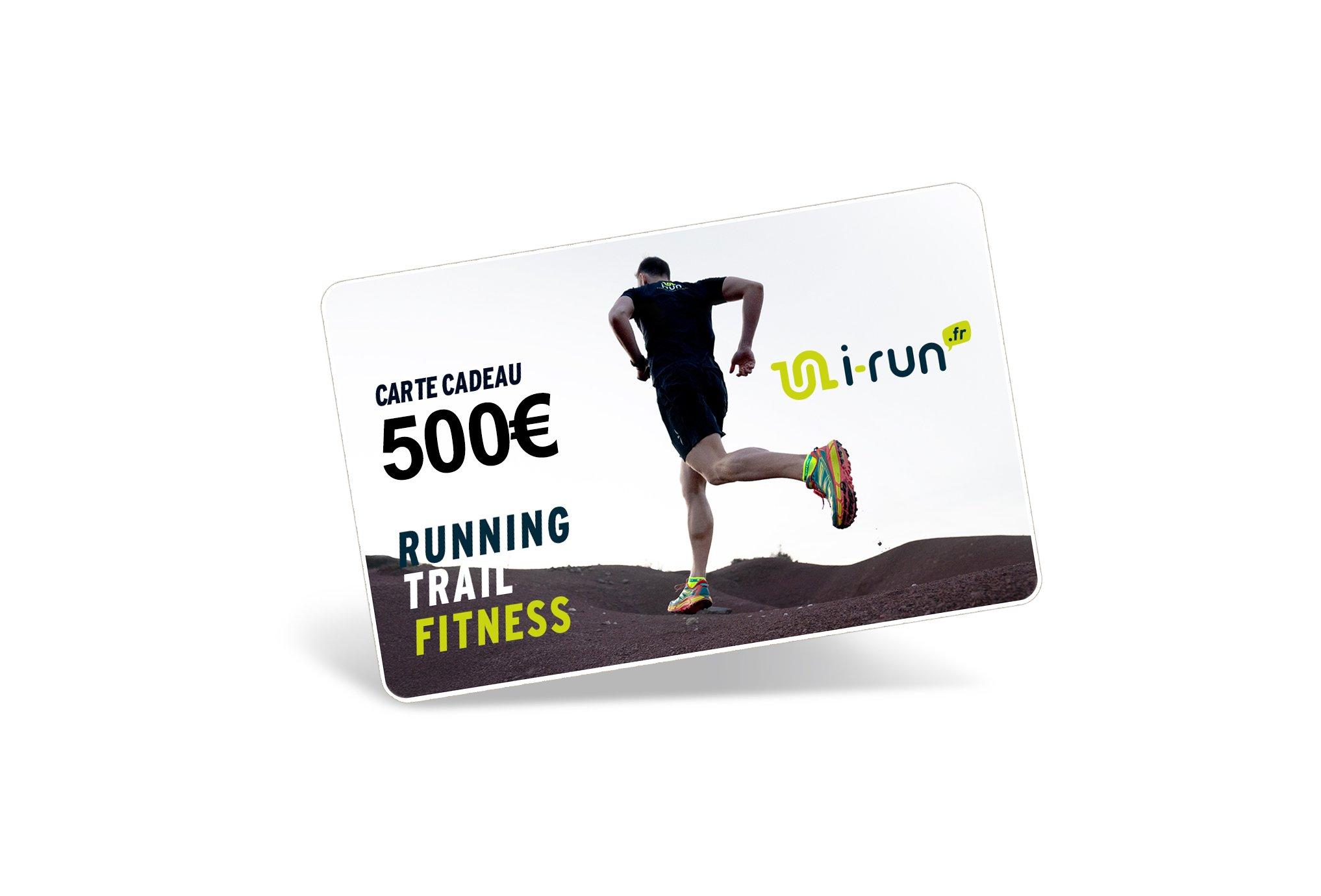 i-run.fr Carte Cadeau 500 M Cartes Cadeau