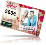 i-run.fr Carte Cadeau 500 Saint Valentin