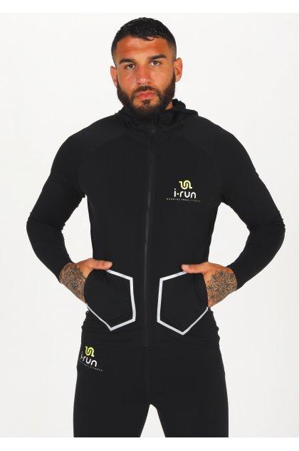 i-run.fr chaqueta Hooded i-Run