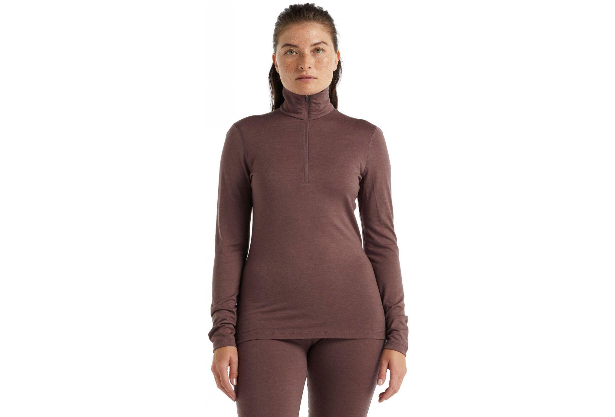 Icebreaker 200 Oasis 1/2 zip W vêtement running femme