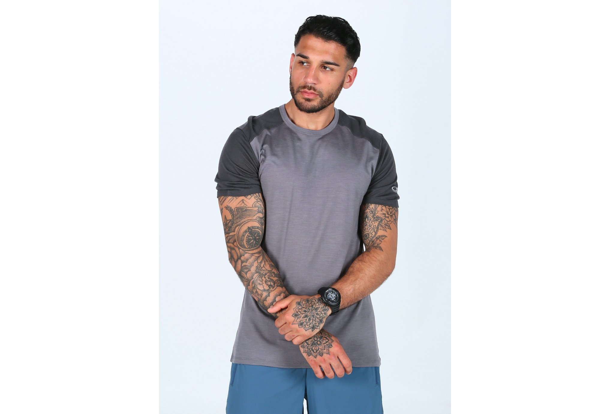 Icebreaker Amplify Low Crewe M Diététique Vêtements homme