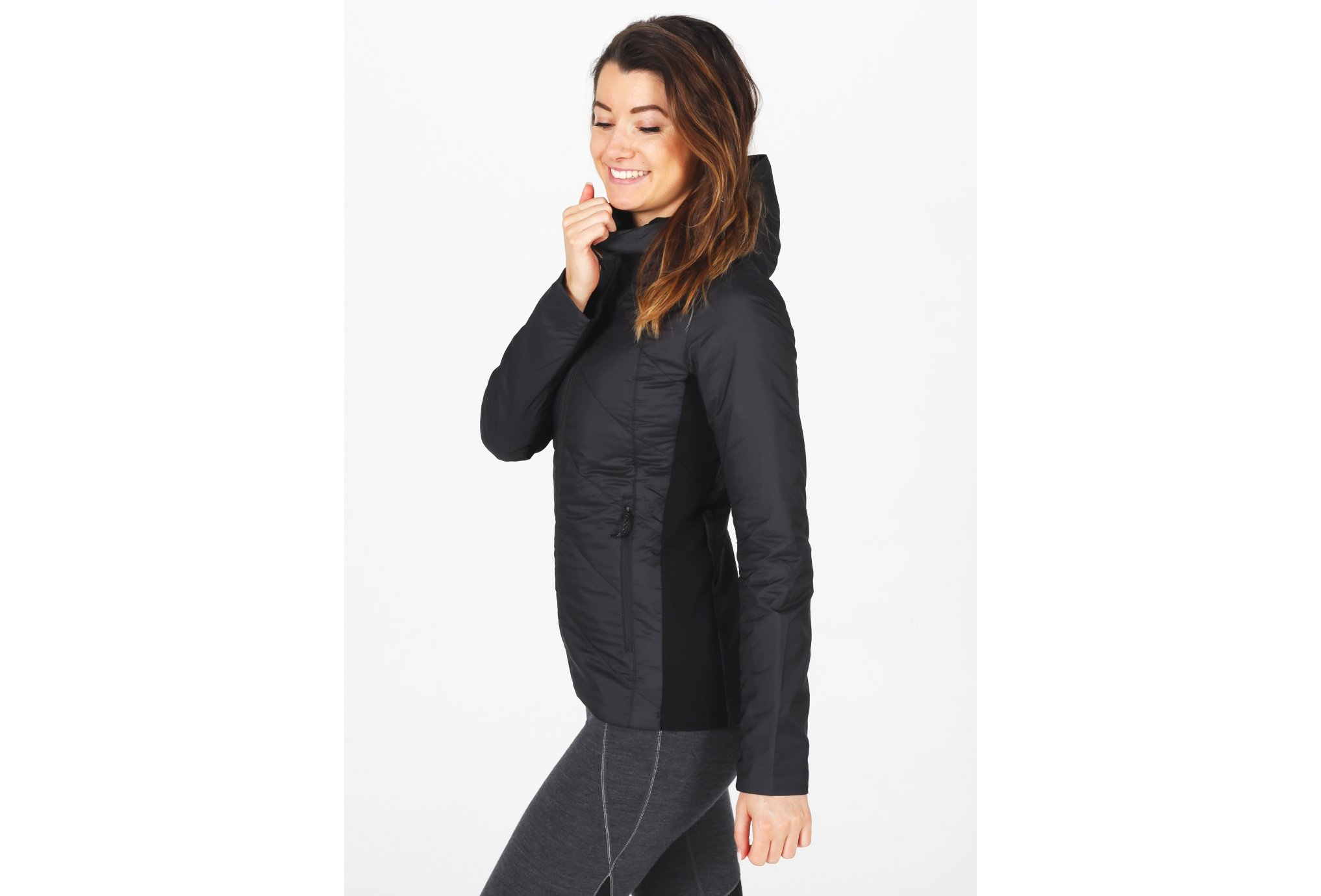 Icebreaker Helix Hooded W vêtement running femme