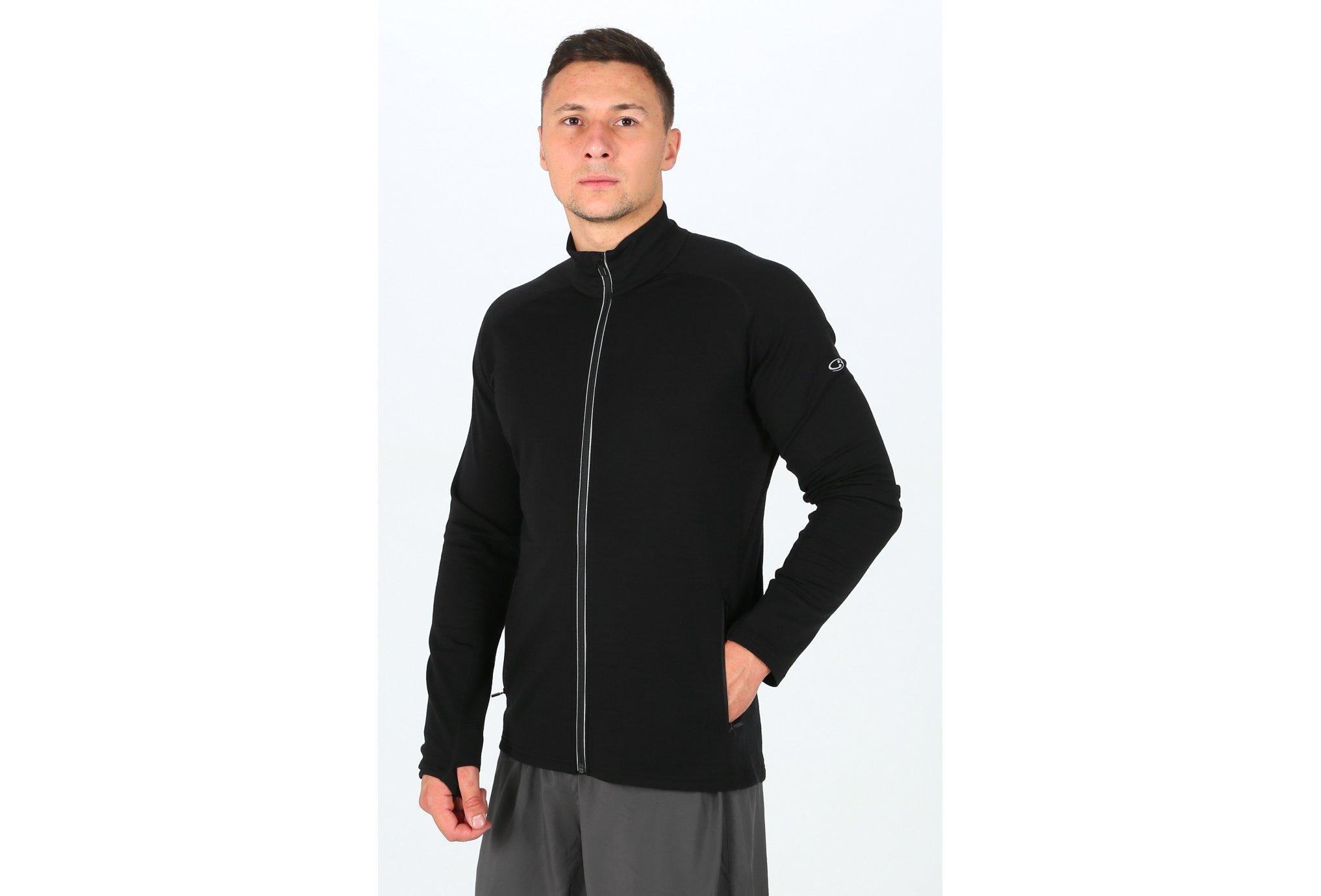 Icebreaker Quantum LS Zip M Diététique Vêtements homme