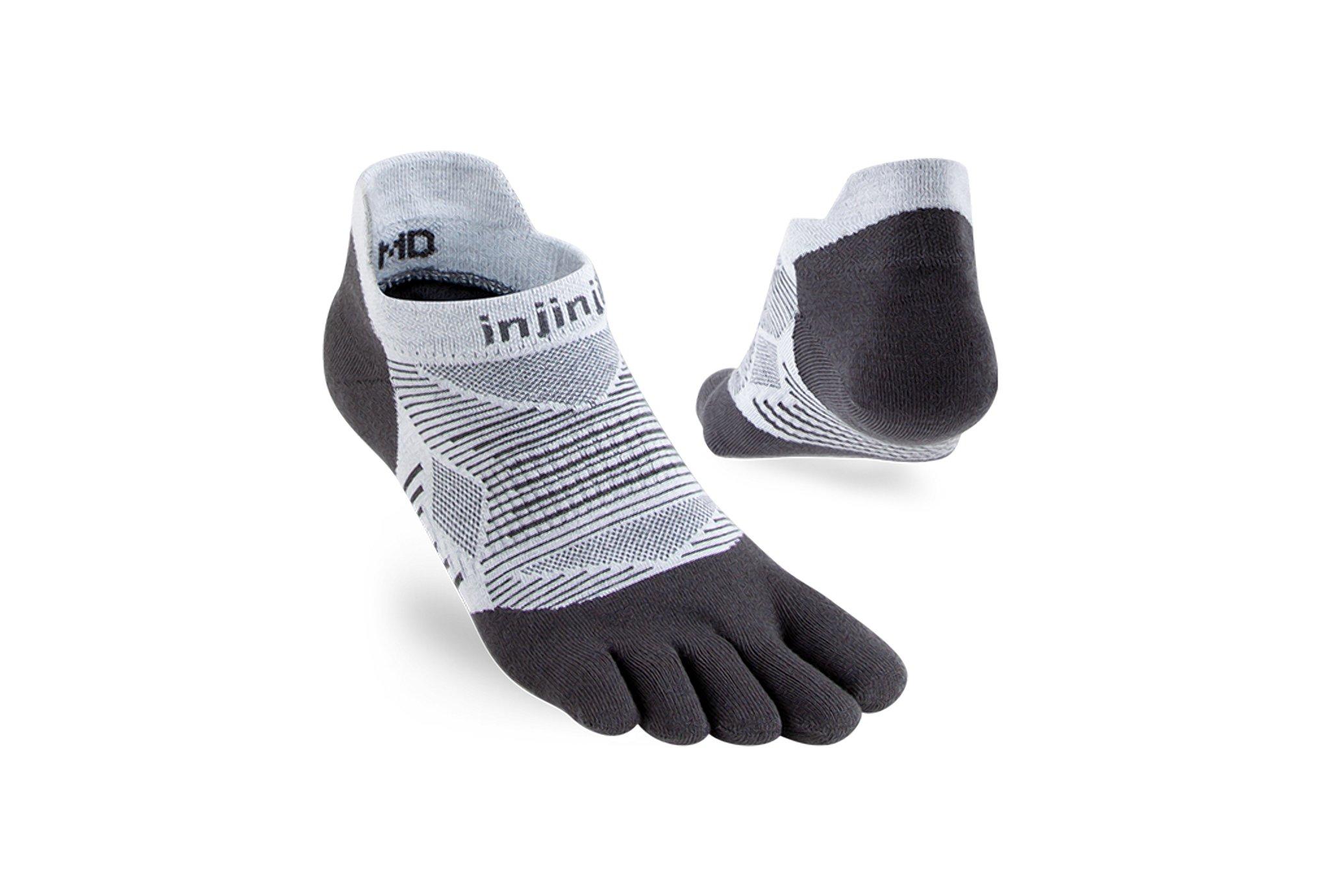 Injinji Run Original Weight No-Show Coolmax Chaussettes