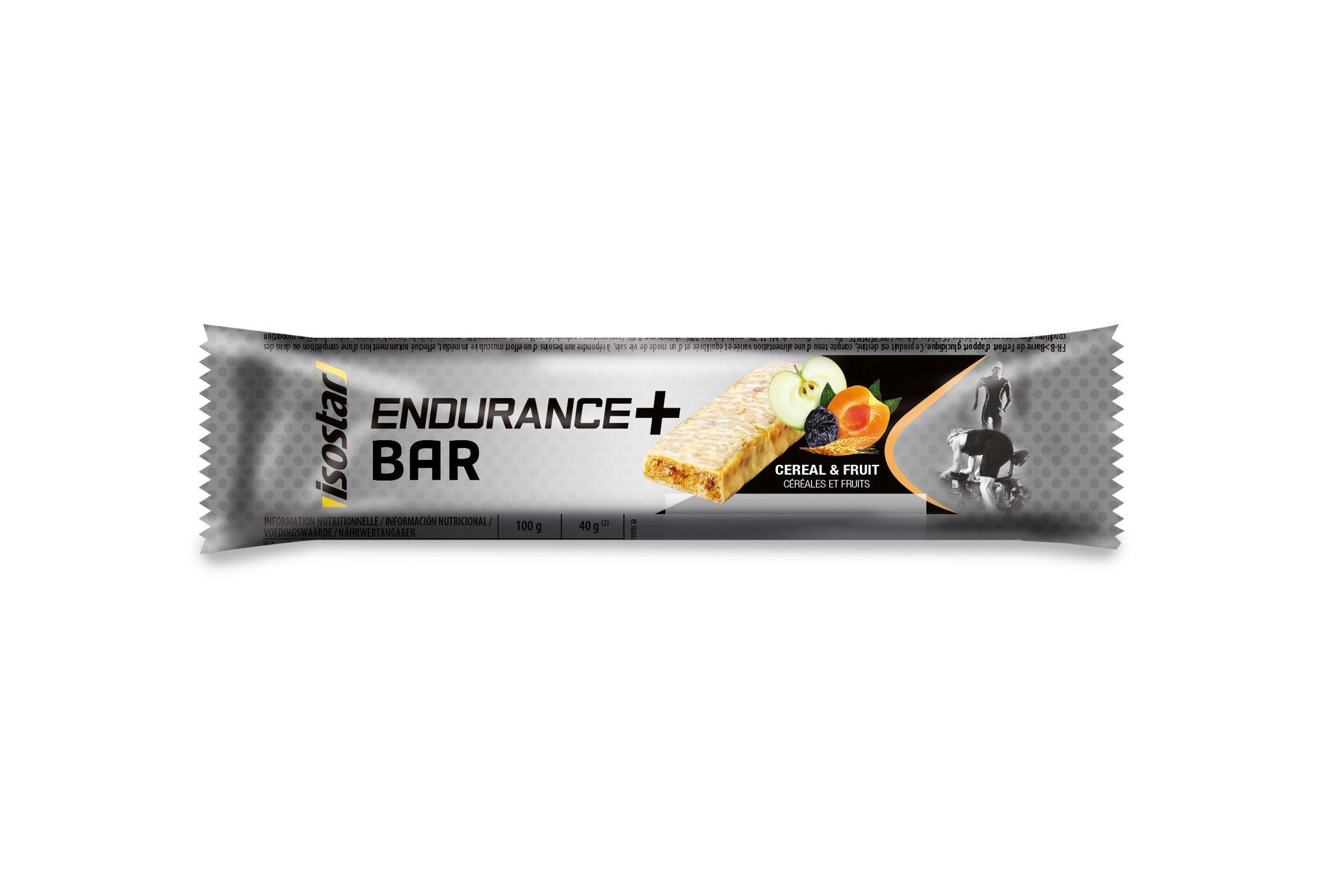 Isostar Barre Endurance + Céréales et Fruits Diététique Barres