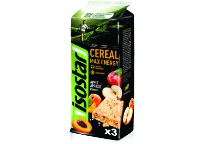 Isostar Barres Cereal Max Energy - Pomme/Abricot