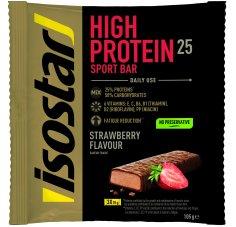 Isostar Barres High Protein 25 - Fraise