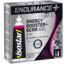 Isostar Gel Endurance + Energy Booster + B.C.A.A - Fruits Rouges