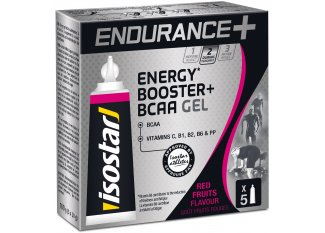Isostar Gel Larga Distancia Energy + B.C.A.A - Frutos Rojos