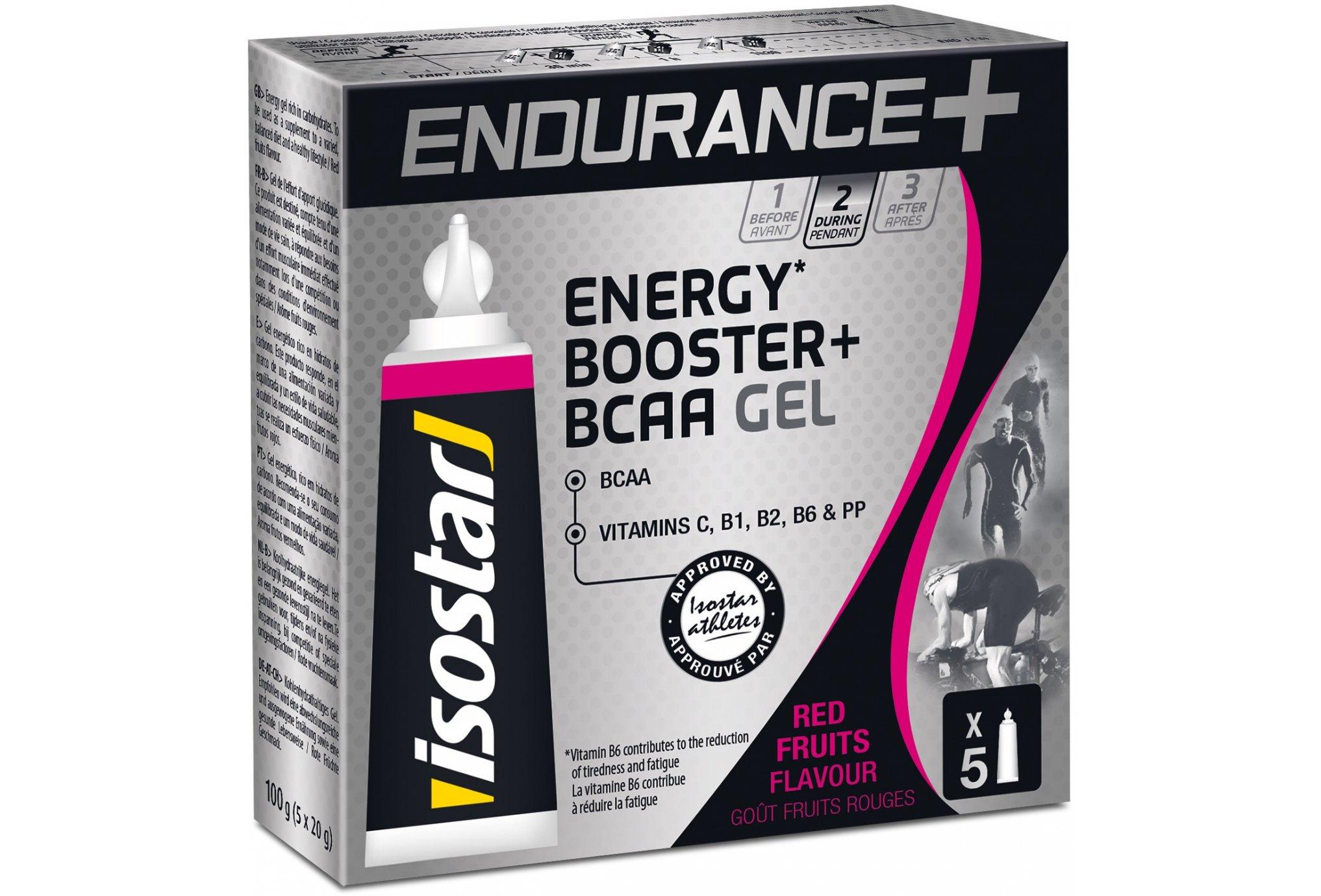 Isostar Gel Larga Distancia Energy + B.C.A.A - Frutos Rojos Diététique Gels