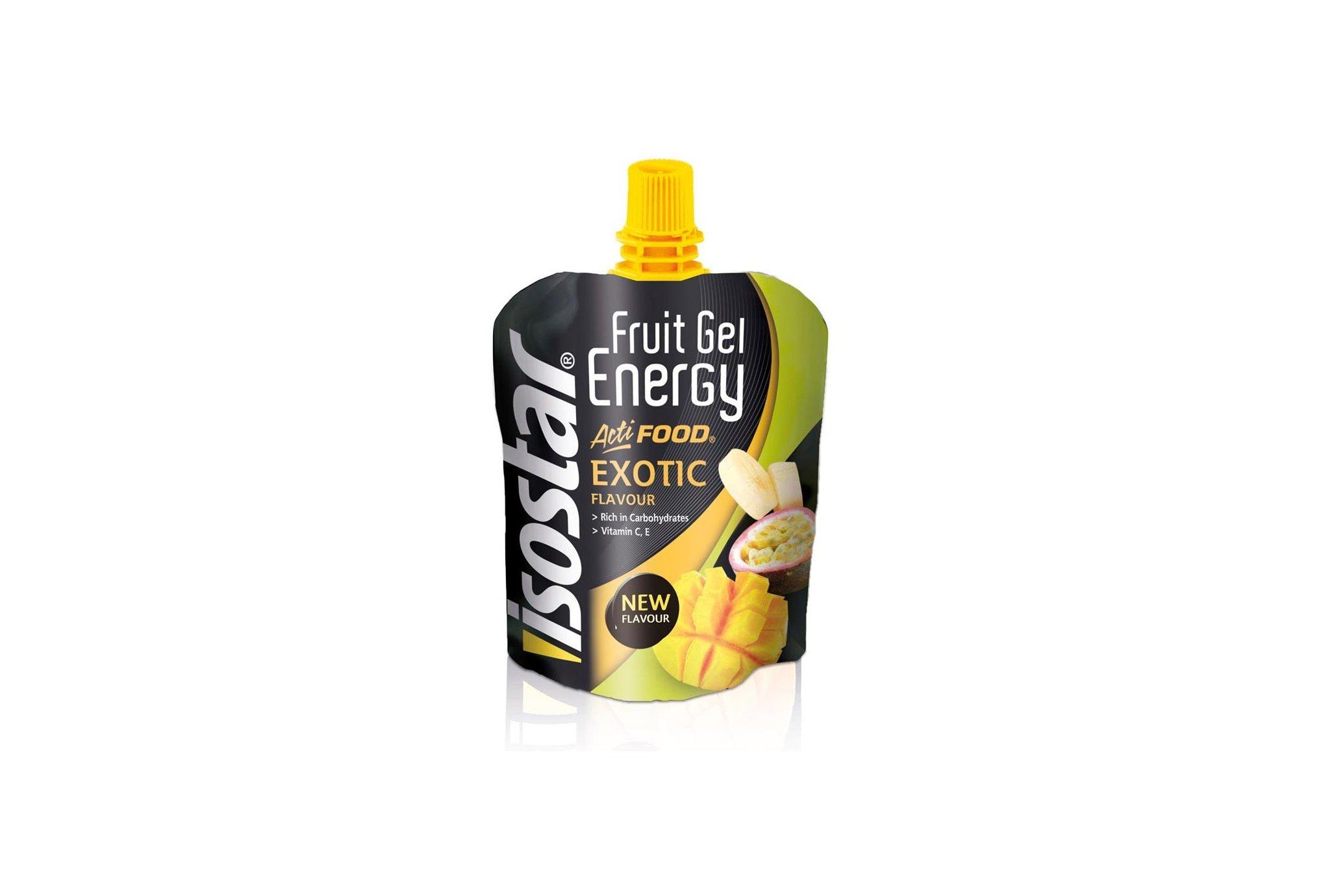 Isostar Gel Energy Actifood - Fruits Exotiques Diététique Gels