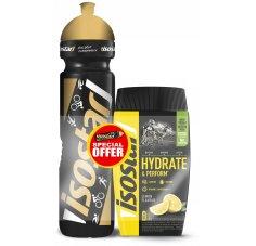 Isostar Hydrate & Perform - Citron + 1 gourde offerte