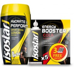 Isostar Lot Hydrate & Perform citron + Gel Energy - Cola