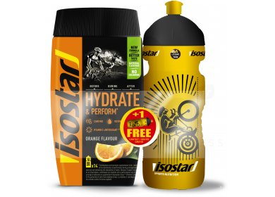 Isostar Pack Hydrate & Perform + Gourde offerte - Orange