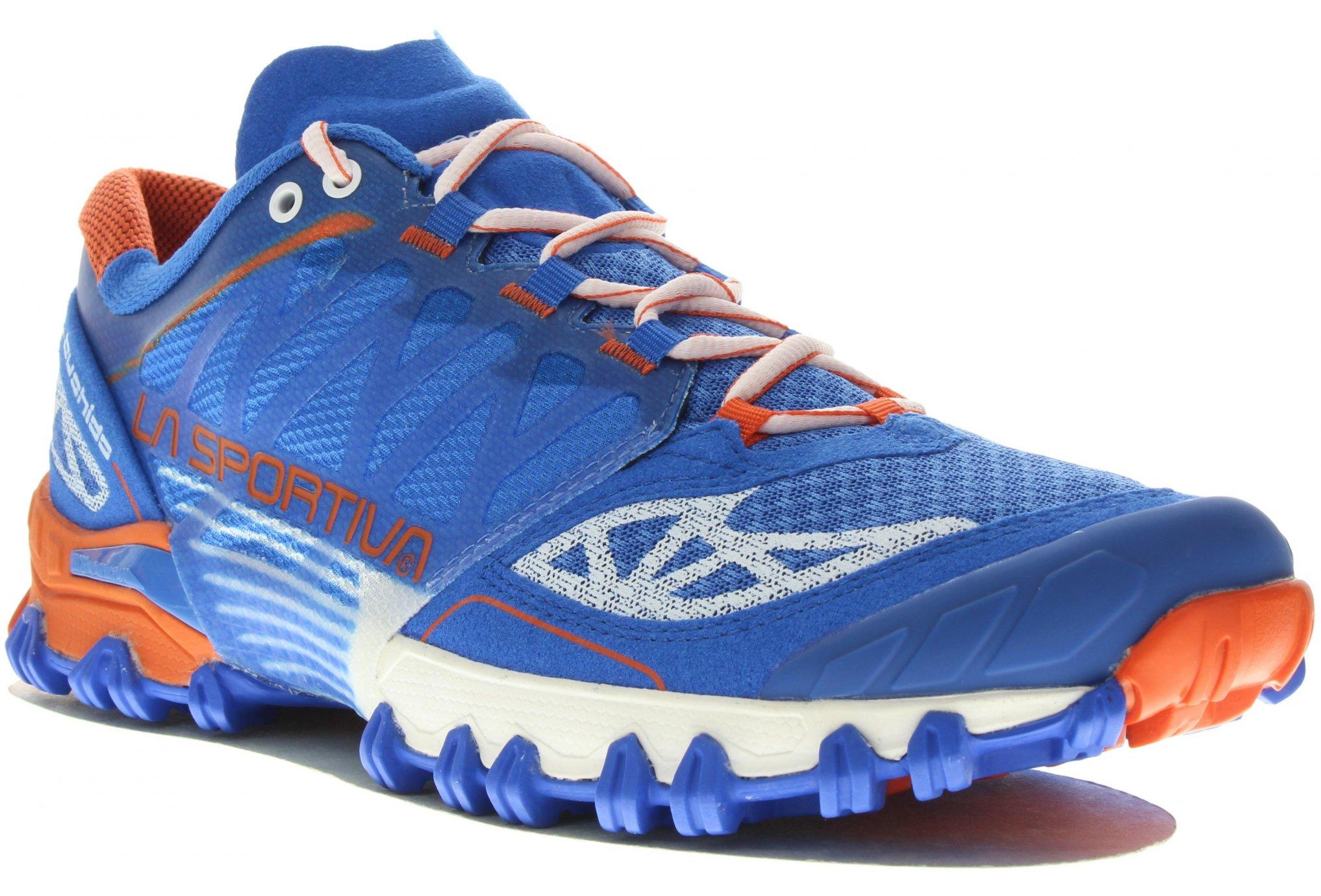 La Sportiva Bushido Women marine blue/lily orange