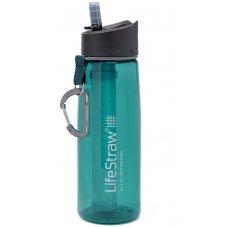 LifeStraw Gourde à paille filtrante GO 2 - 650 mL