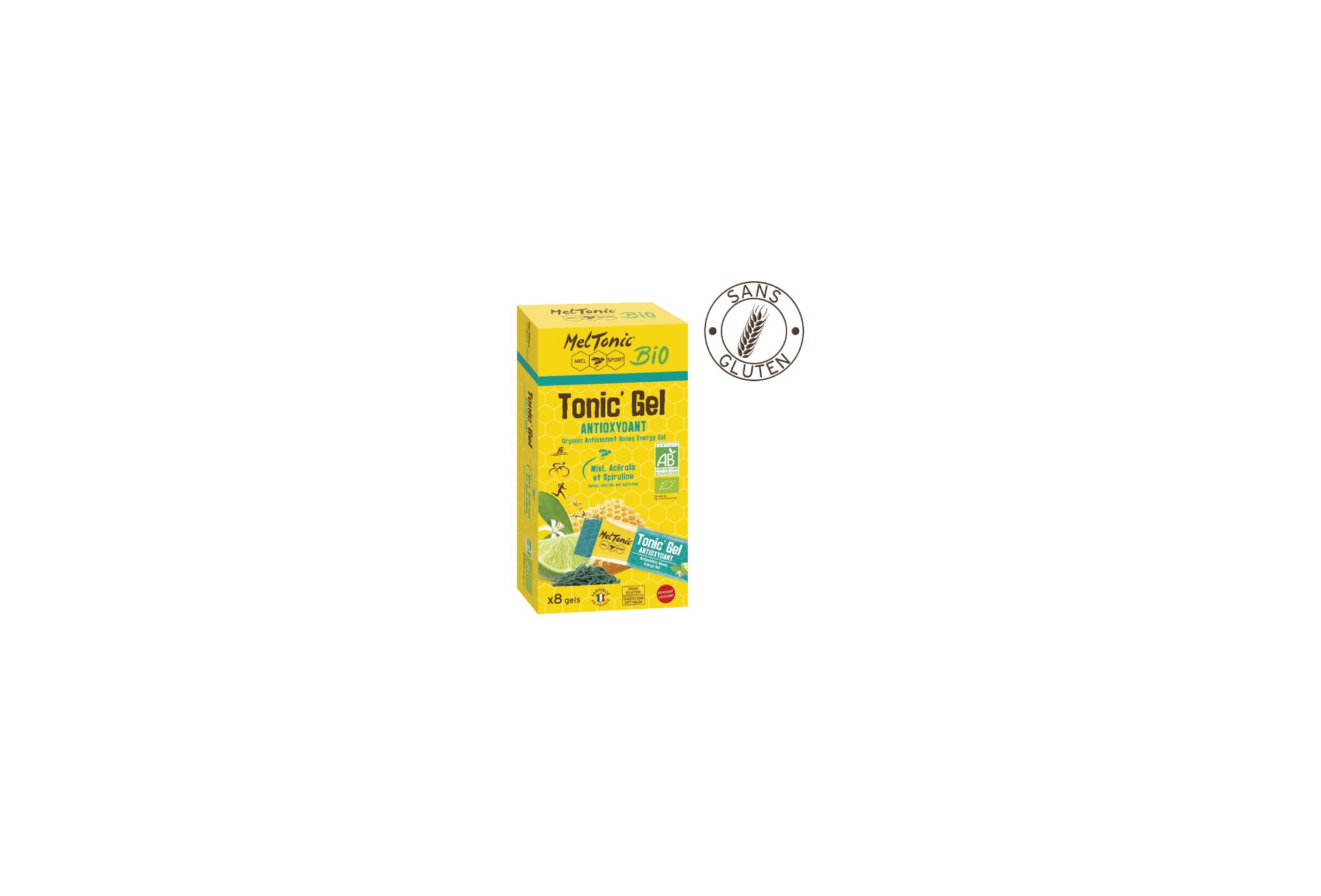 MelTonic Etui Tonic'Gel Antioxydant Bio Diététique Gels
