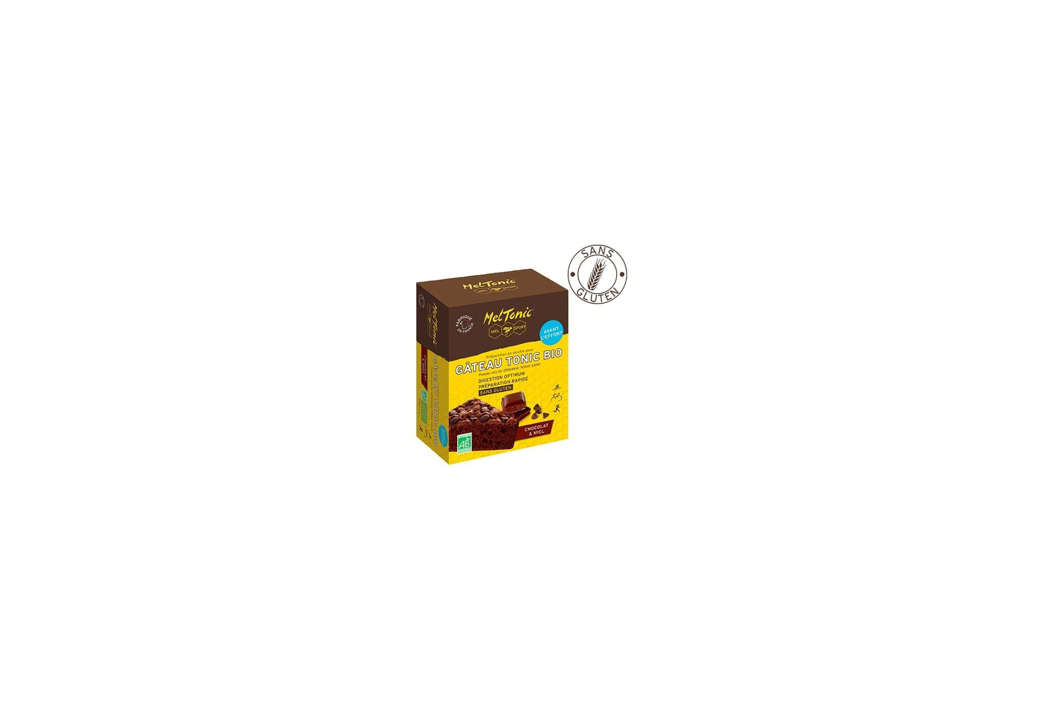 MelTonic Pastel Tonic Bio - Chocolate y miel Diététique Préparation