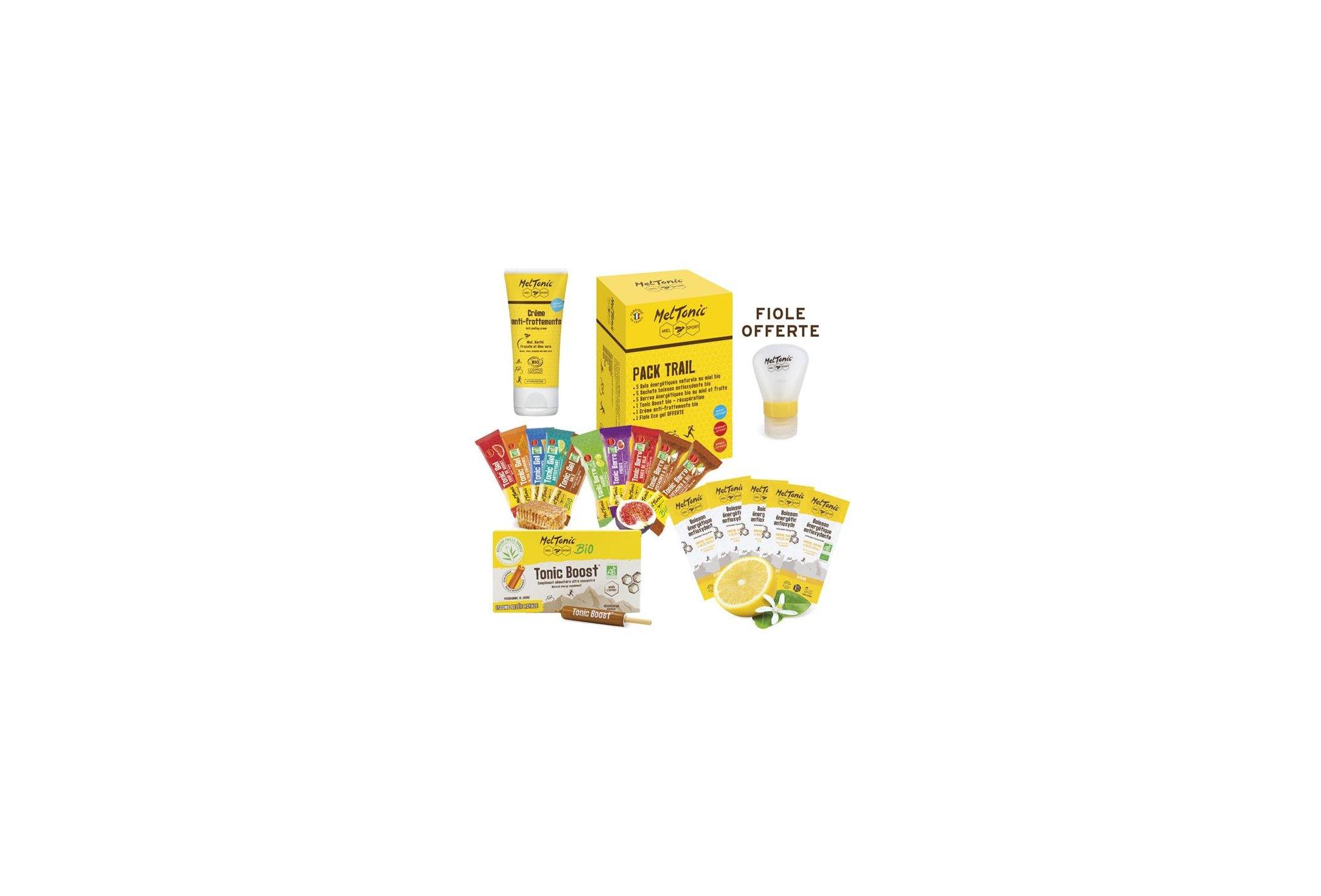 MelTonic Pack Trail - Boisson Énergétique Antioxydante saveur citron Diététique Packs