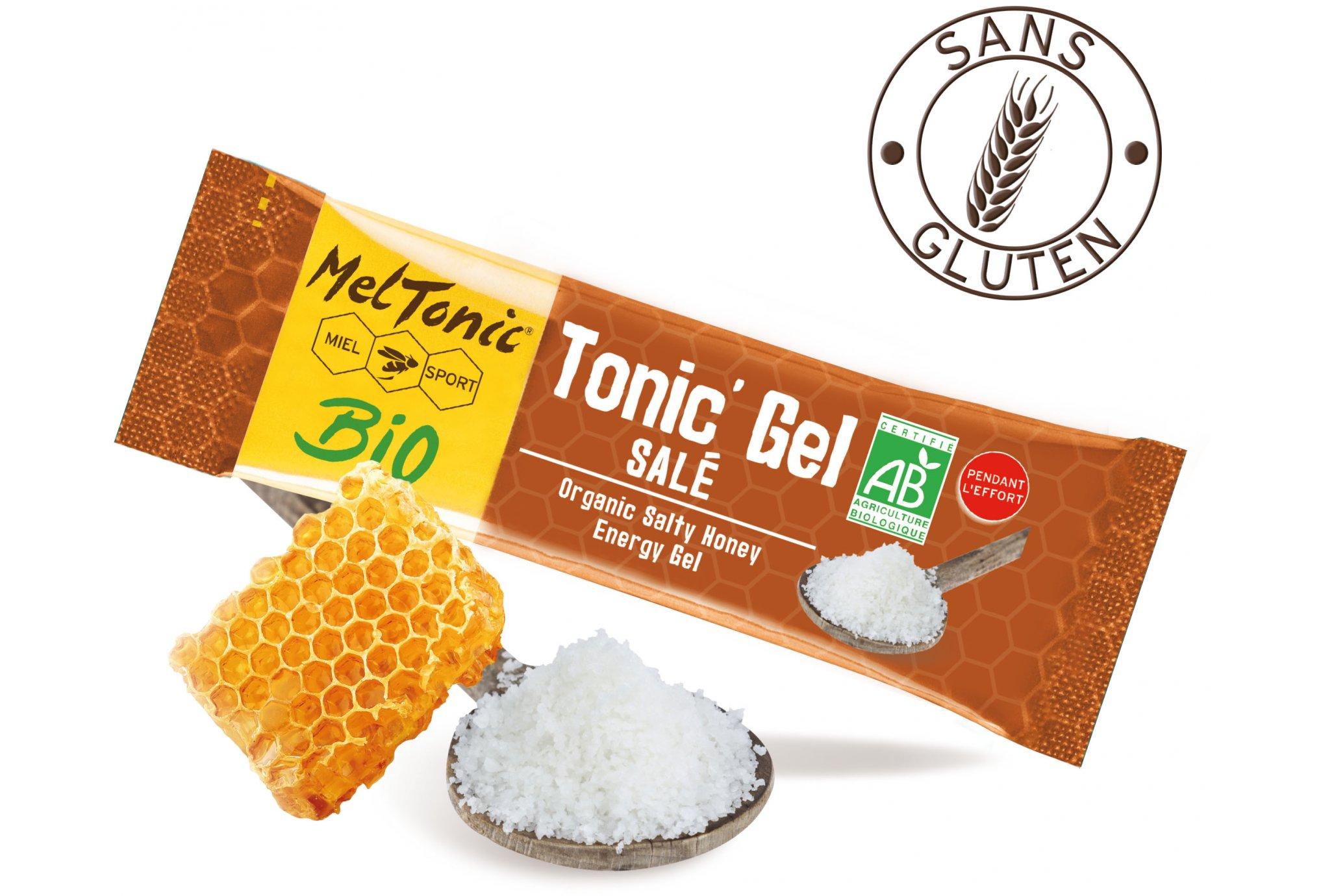 MelTonic Tonic'Gel Salé BIO - Miel Fleur de Sel Gelée Royale Diététique Gels