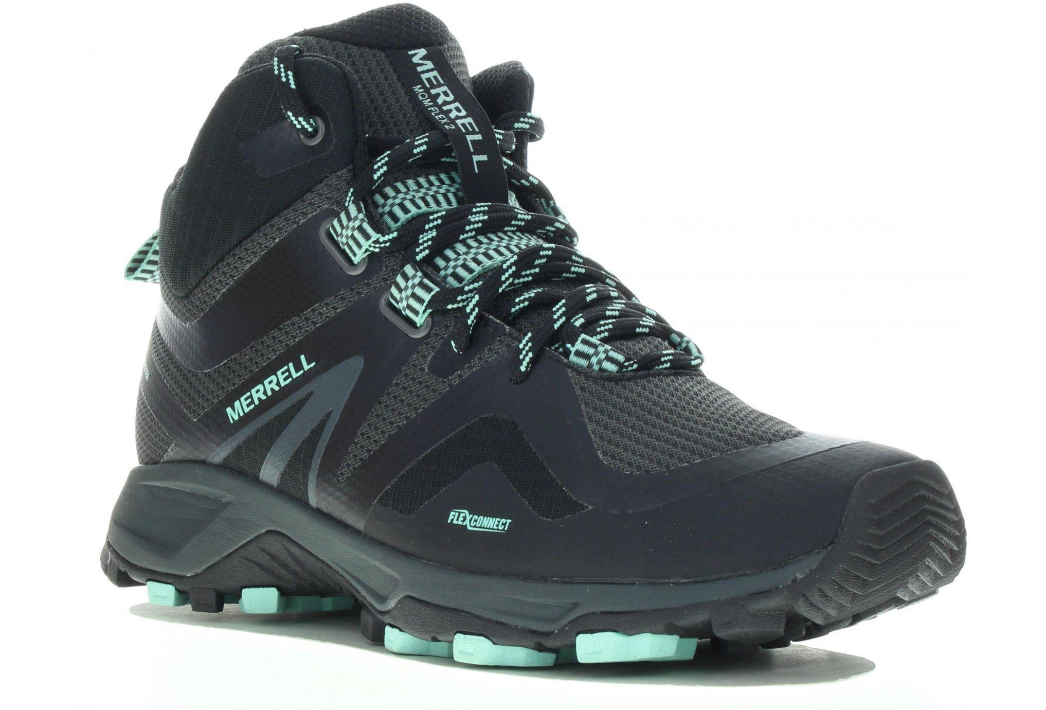 Merrell MQM Flex 2 Mid Gore-Tex Chaussures running femme