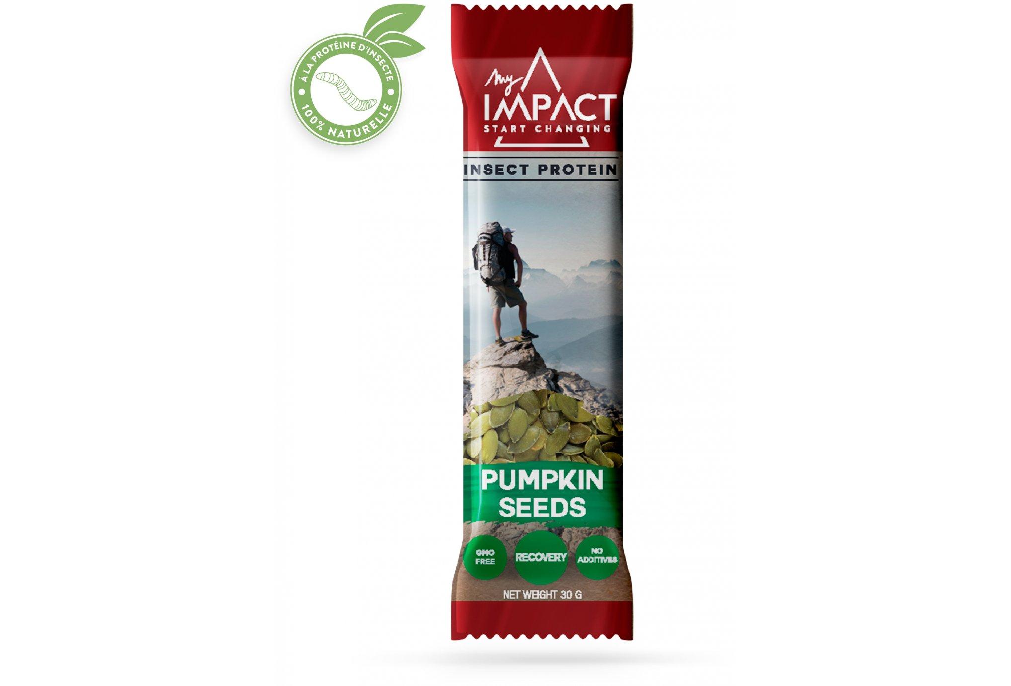 Micronutris My Impact - Graines de courge Diététique Barres