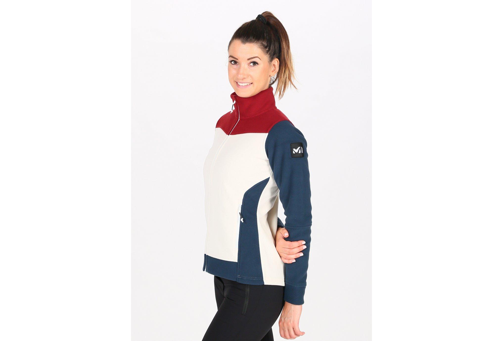 Millet Boven Fleece W Diététique Vêtements femme