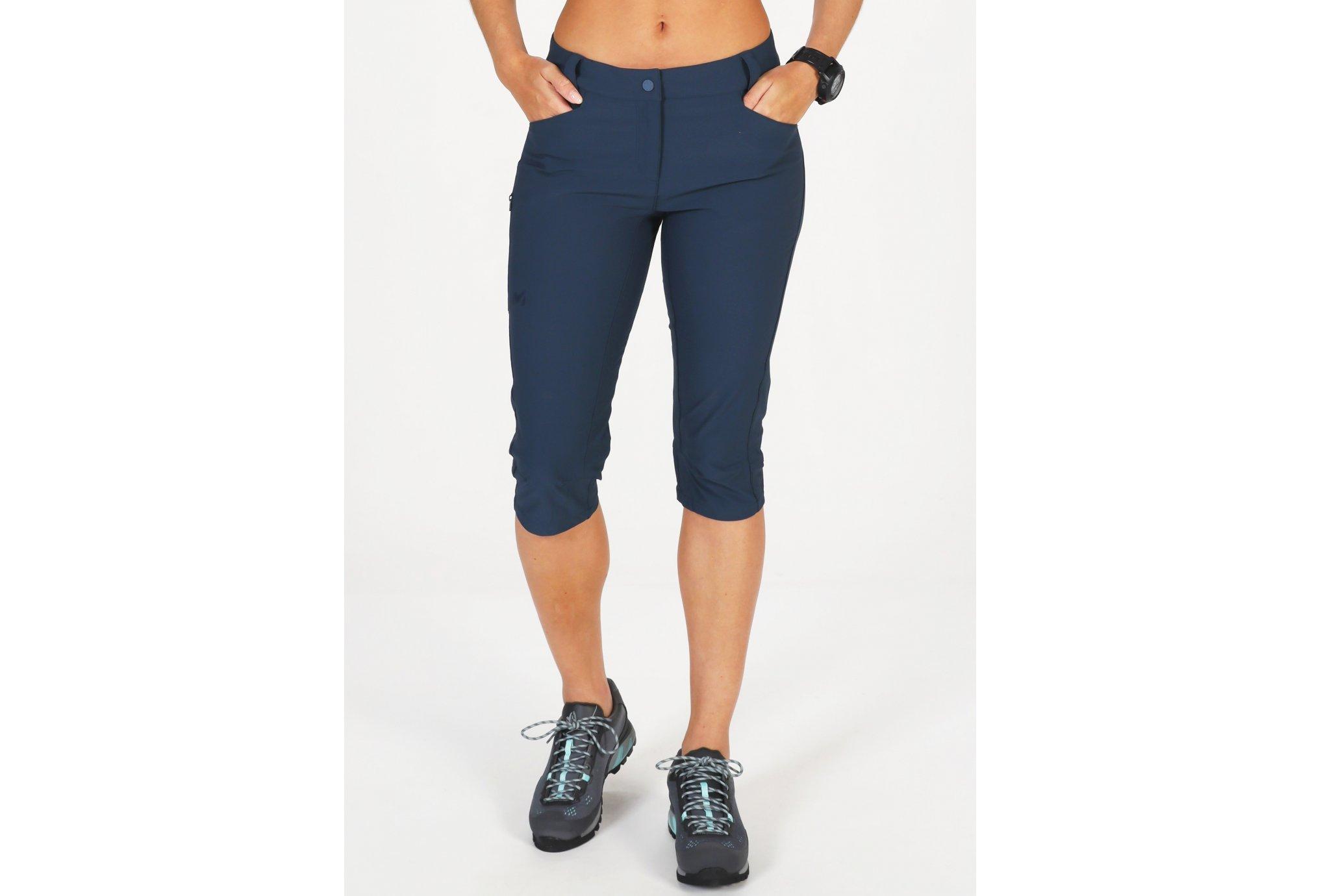 Millet Trekker Stretch 3/4 II W vêtement running femme