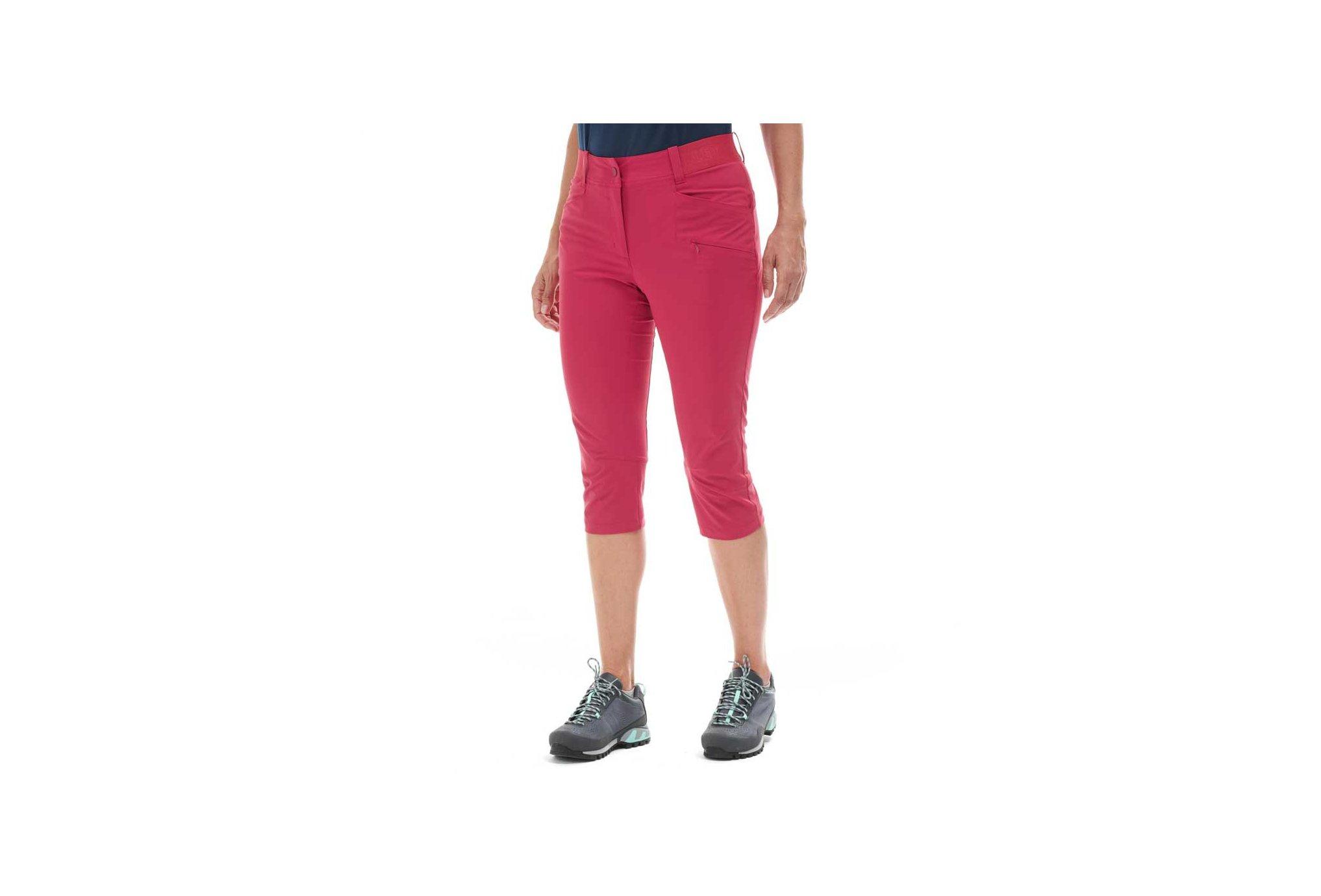 Millet Wanaka Stretch 3/4 W vêtement running femme