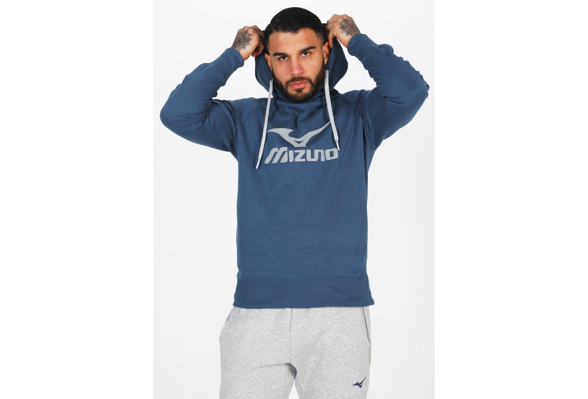 Mizuno Athletic Hoody M vêtement running homme