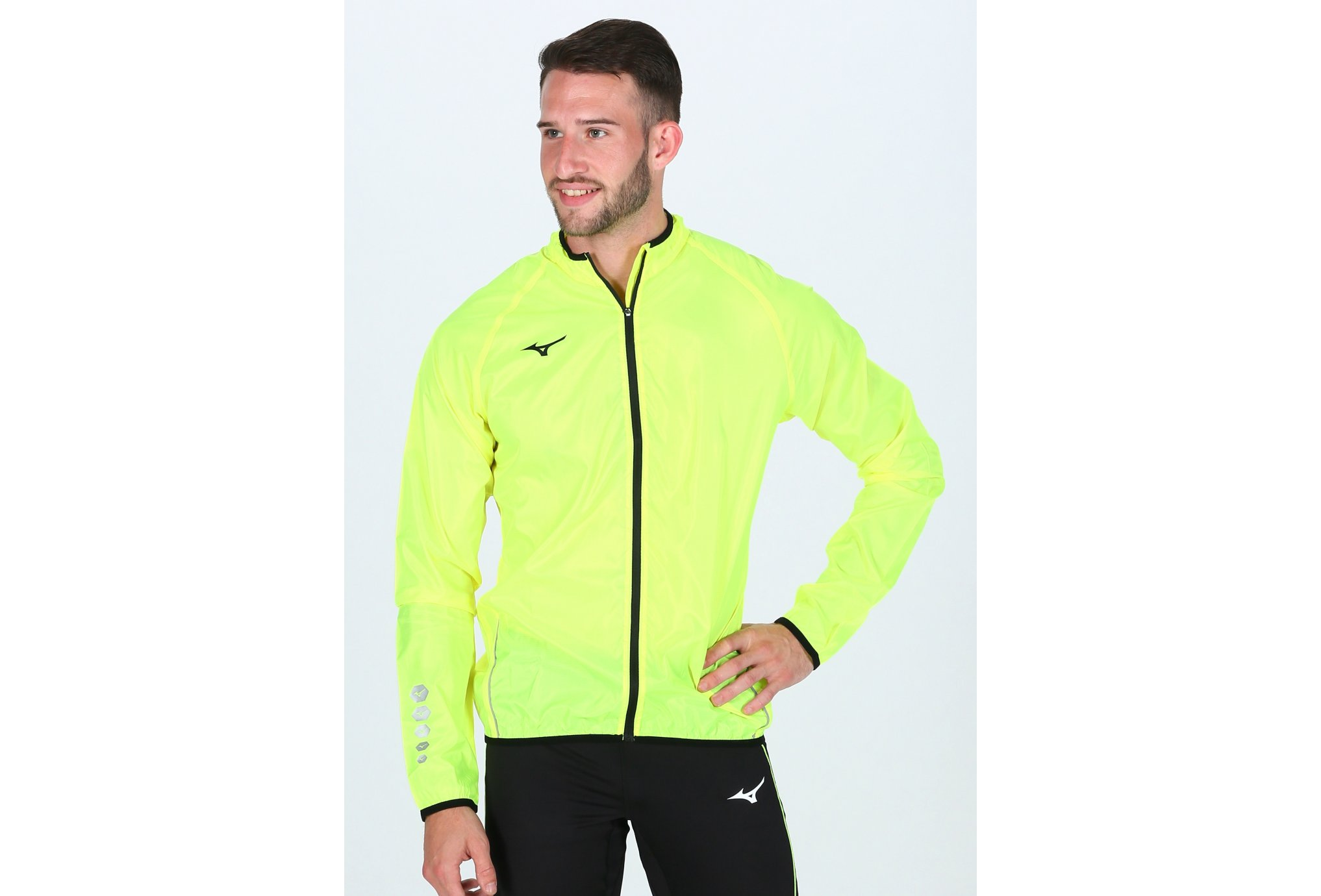 Mizuno Authentic Rain M vêtement running homme