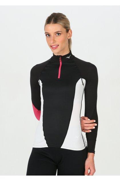 Mizuno Camiseta Breath Thermo Virtual Body G1 media cremallera